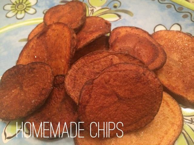 homemade chips photo