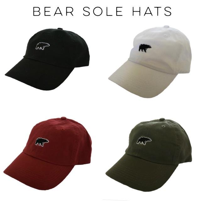 Bear Sole Hats
