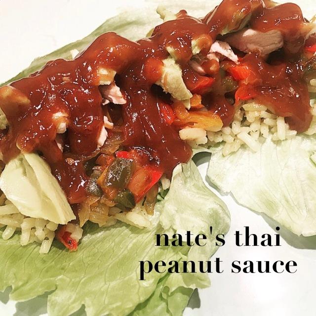nate's thai peanut sauce